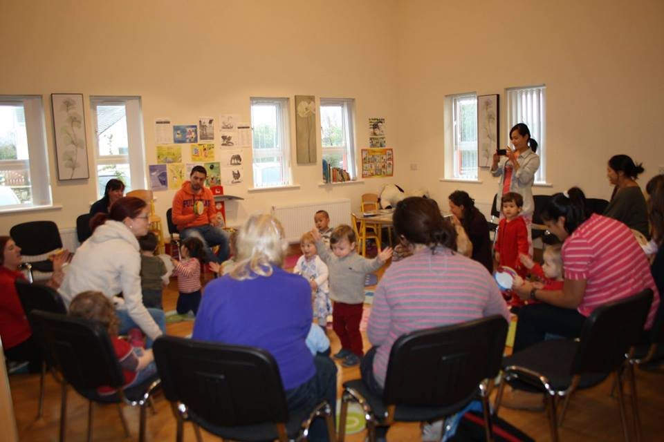 Parent & Toddler group - Páistí Le Chéile is going strong at our slightly later time of 10.30-12noon each Thursday.